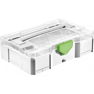 Festool FES-203813  MINI T-LOC Systainer W/ Transparent Lid
