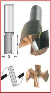 "1-5/8"" Bottom Carbide Bit"