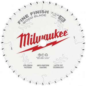 "Milwaukee 48-40-0726  7-1/4"" 40 Tooth Fine Finish Circular Saw Blade"