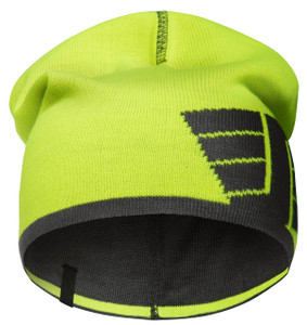Snickers Reversible Beanie (High Visibility Yellow - Steel Grey)