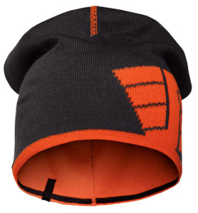 Snickers Reversible Beanie (Navy - High Visibility Orange)