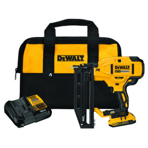 Dewalt DCN662D1  20V 16GA ST Finish Nailer Kit