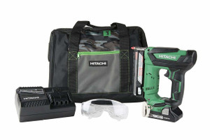 "Hitachi NP18DSAL 1-3/8"" 35mm 18V Cordless 23 Gauge Pin Nailer Kit with 3.0 Ah Lithium Ion Battery"