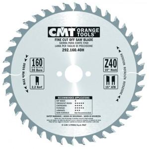 CMT Orange Tools CMT-29216040H Fine Cut-Off Saw Blade 160mm (6-5/16-Inch) X