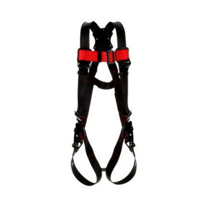 3M 1161542C Protecta Vest-Style Harness, Black, Medium/Large
