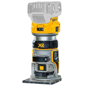 Dewalt DCW600B 20V MAX Compact Router - Bare Tool