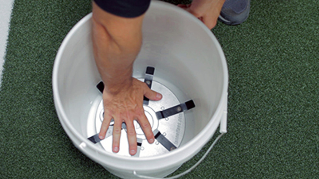 Inserting the Tanner BTI into a bucket