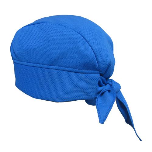 Blue Skull Cap