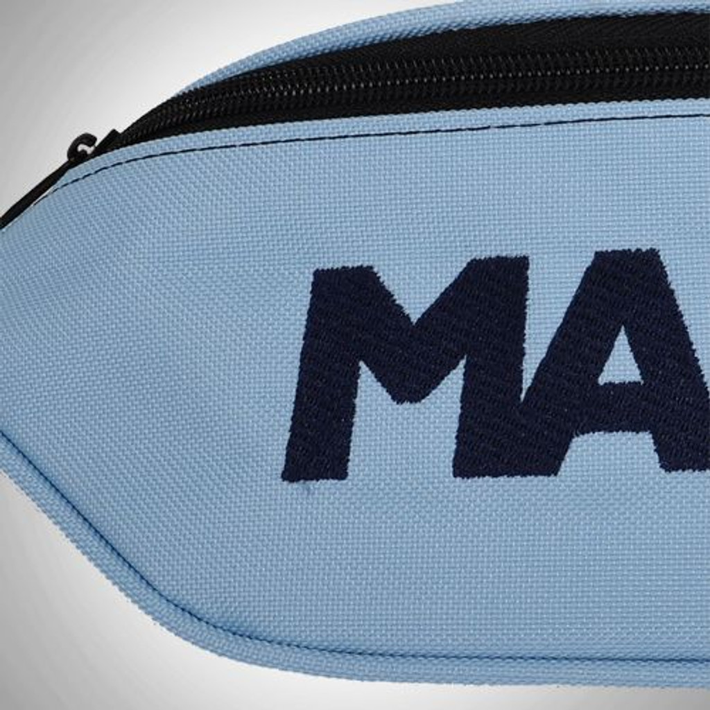 MANTO beltbag LOGOTYPE light blue