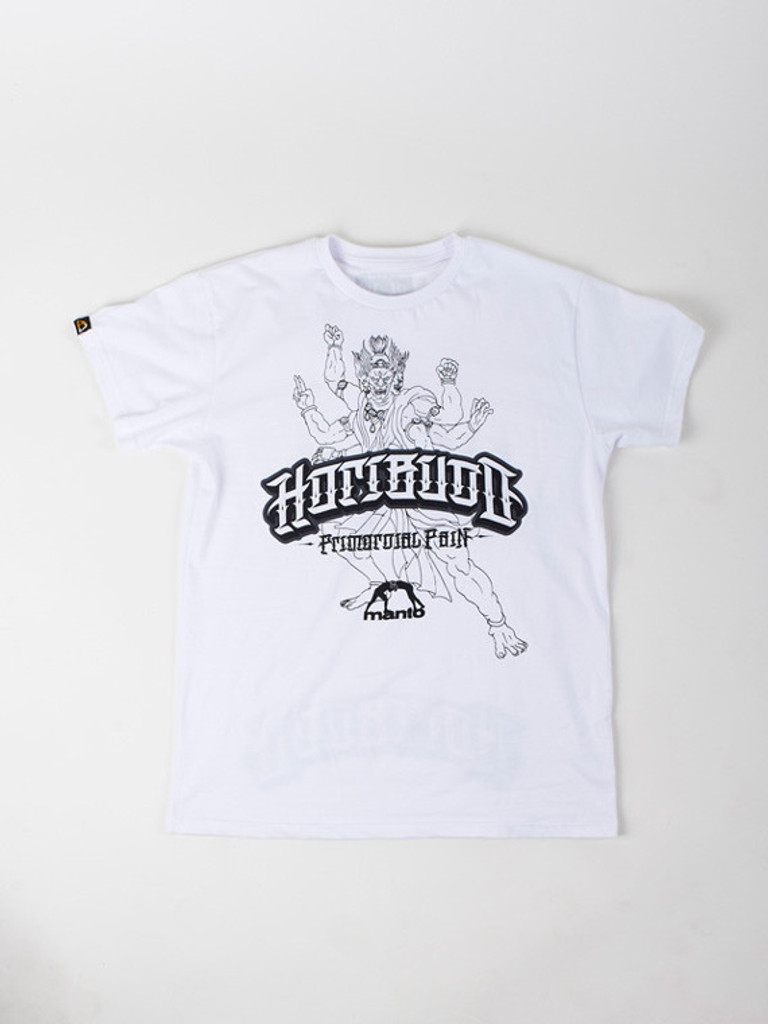 "MANTO ""HORIBUDO"" T-SHIRT White"