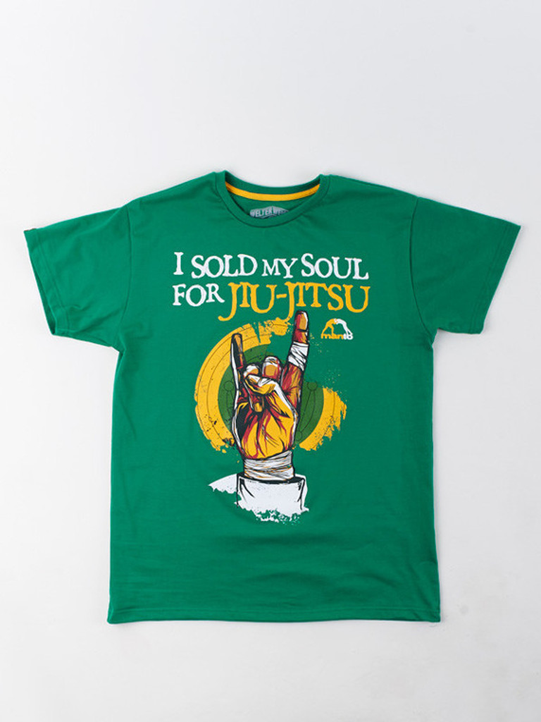 "MANTO ""SOUL"" T-SHIRT Green"
