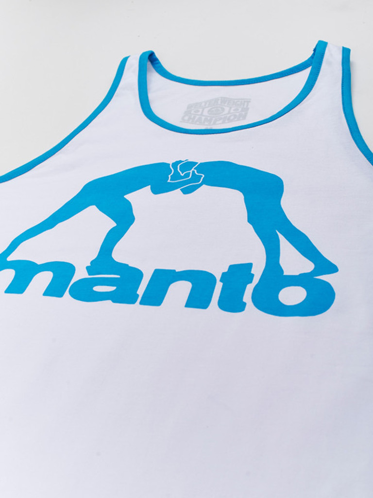 "MANTO ""VIBE"" TANK TOP White"