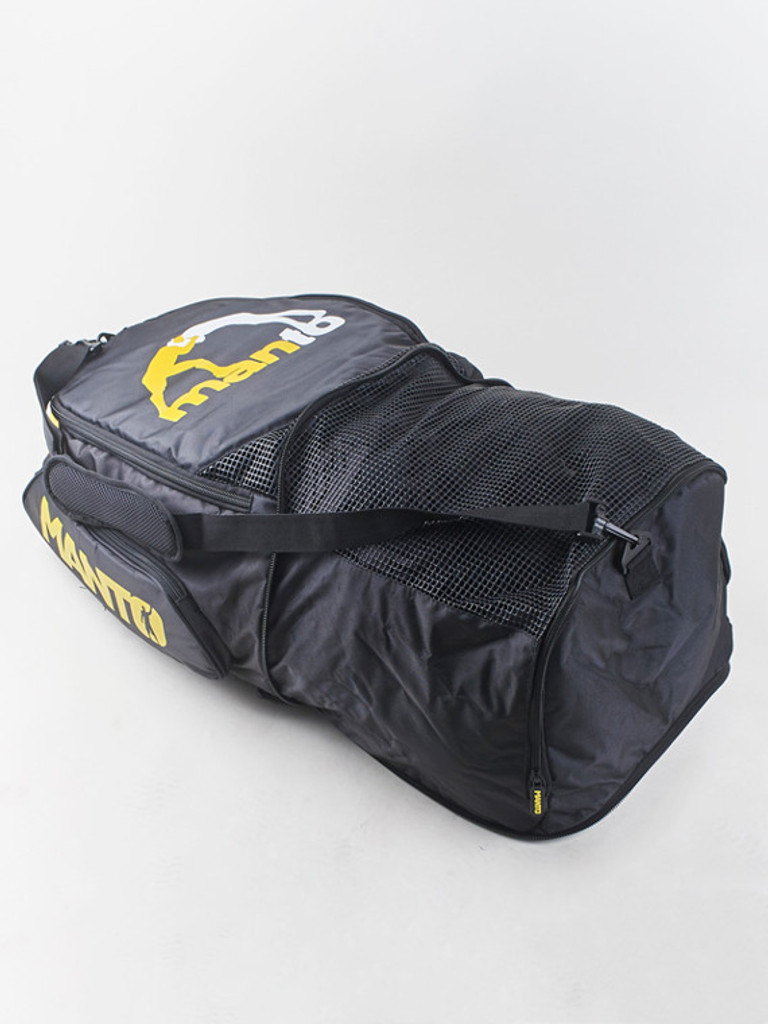 Backpack expands to an over 50L travel duffel bag