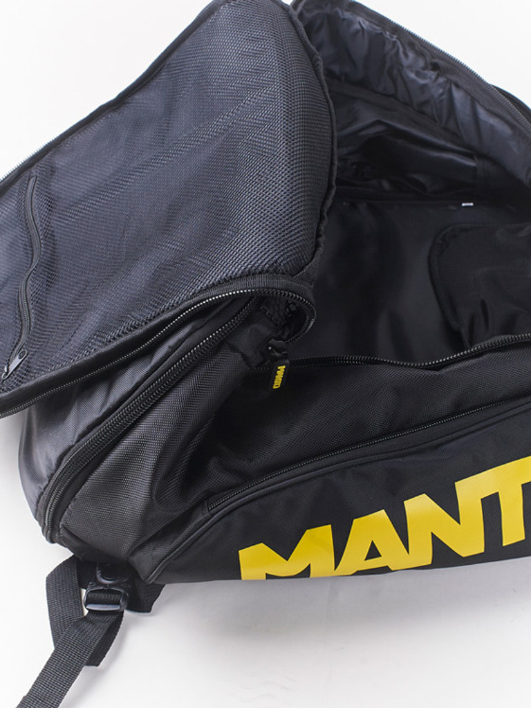 "MANTO ""VICTORY"" Backpack Black"
