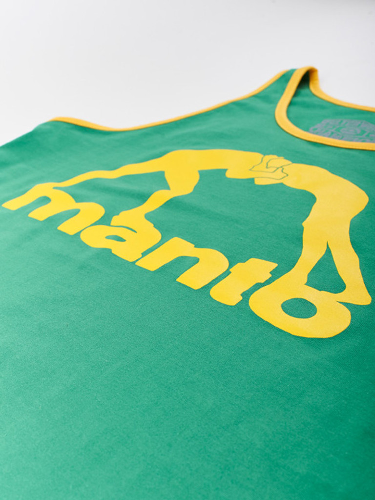 "MANTO ""VIBE"" TANK TOP Green"