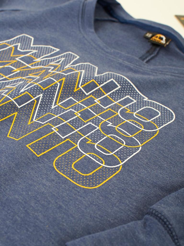 "MANTO ""AIMI"" Sweater for Women Blue Melange"