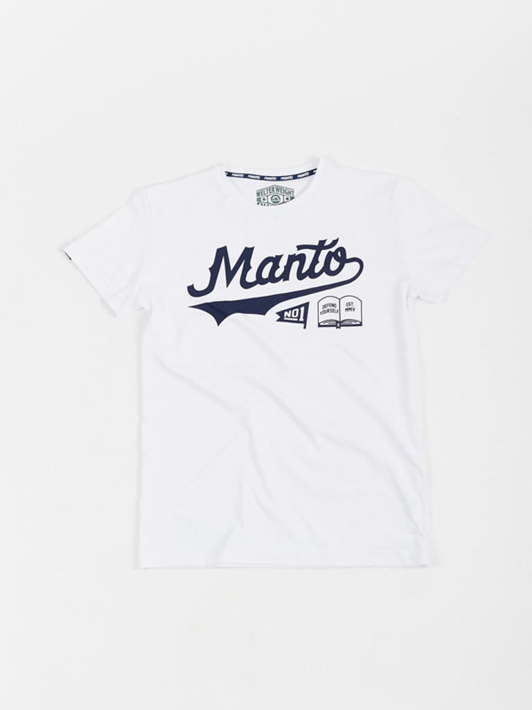 """MANTO """"NUMBER ONE"""" T-SHIRT White"""