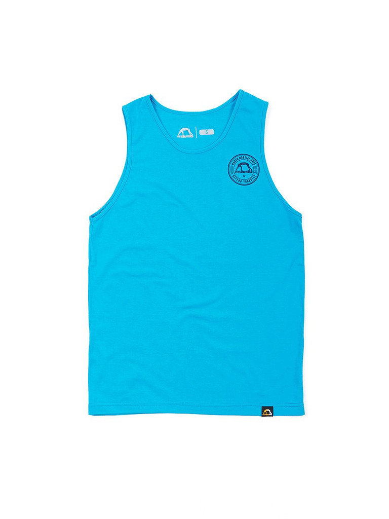"MANTO ""DEFEND"" TANK TOP Turquoise"