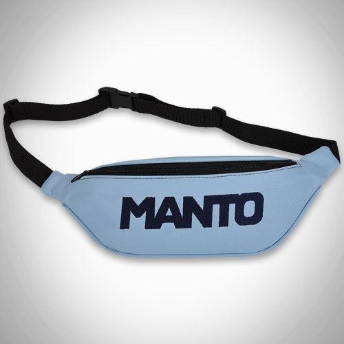 MANTO beltbag LOGOTYPE light blue