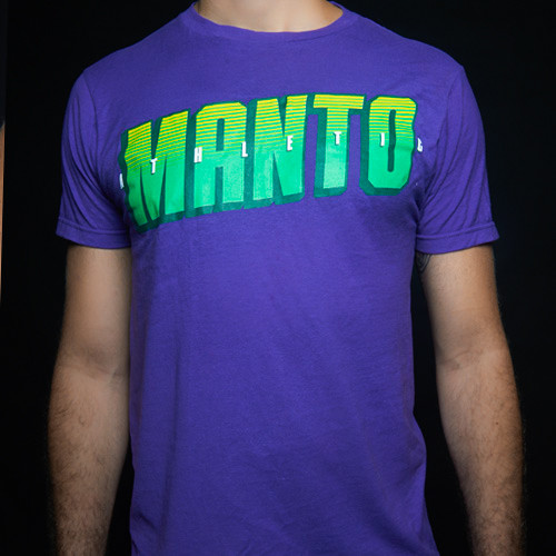 "T-shirt ""ATHLETIC"" Purple"