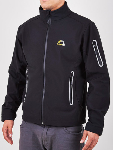 "MANTO ""HYPER"" SOFTSHELL JACKET Black"