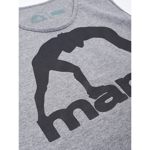 "MANTO ""VIBE"" TANK TOP Grey"