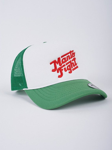 "MANTO ""CALI "" CAP Green & White"