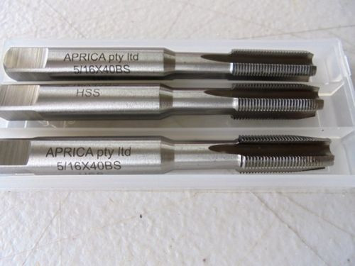 "M.E Model Engineering HSS Taps variations 5/32"" to 3/8"" you pick size 3pc set"