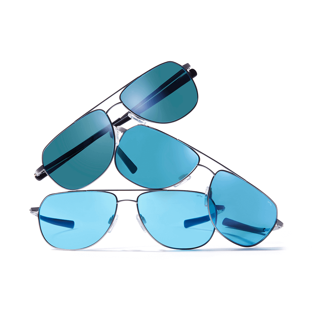 Ascent Aviator Sunglasses