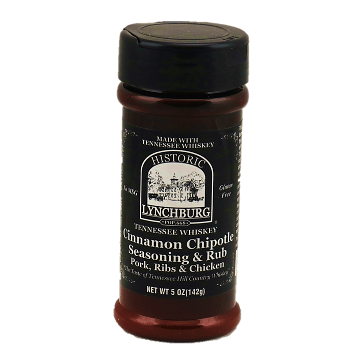 Lynchburg Tennessee Whiskey Cinnamon Chipotle Seasoning Rub