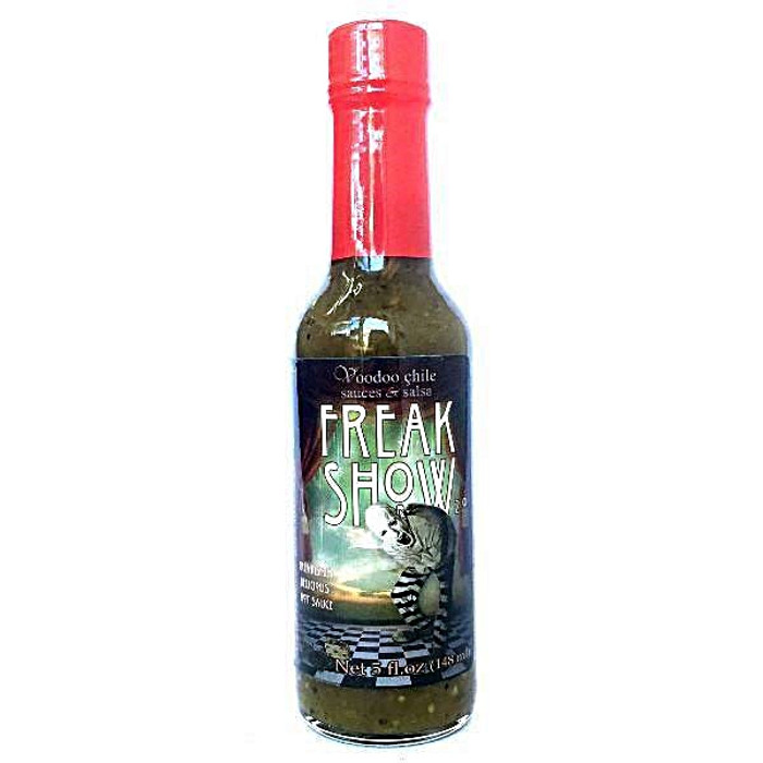 Voodoo Chile Freak Show Hot Sauce Pepper available at Pepper Explosion Hot Sauce Store