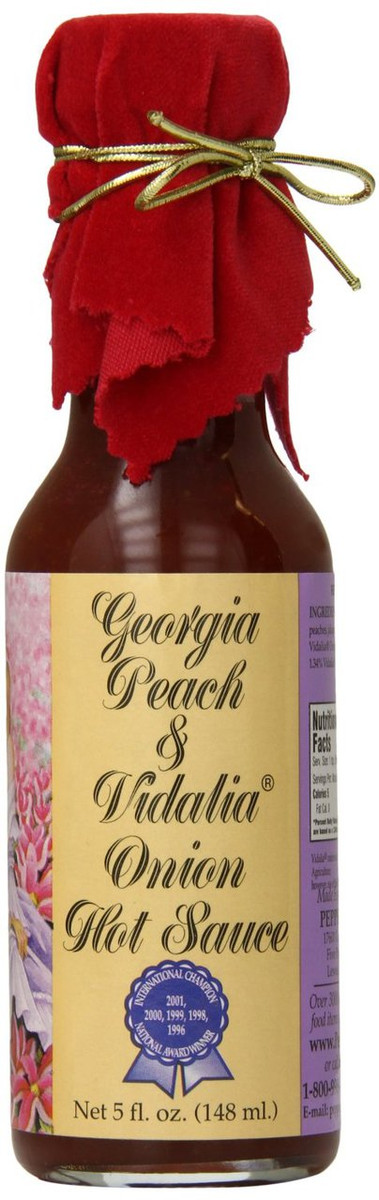 Georgia Peach and Vidalia Onion Hot Sauce
