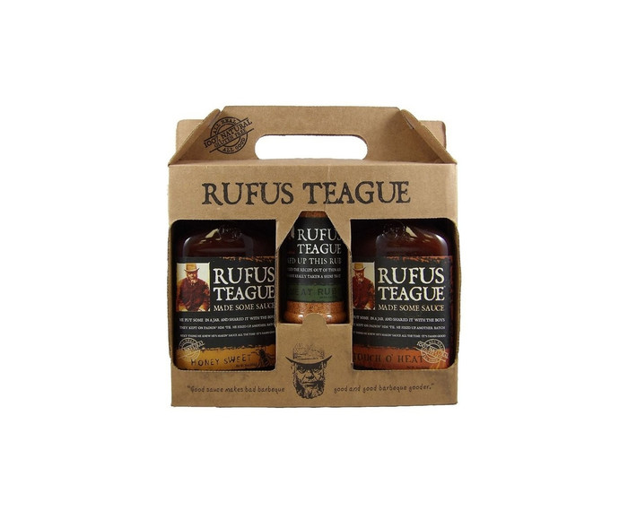 Rufus Teague Specialty Gift Set - Pepper Explosion BBQ Specialists