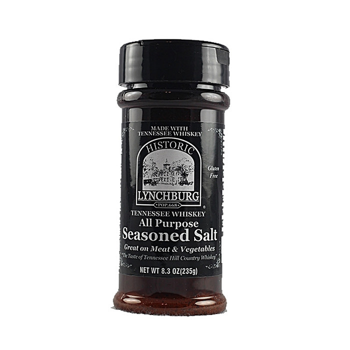 Historic Lynchburg Tennessee Whiskey Seasoned Salt