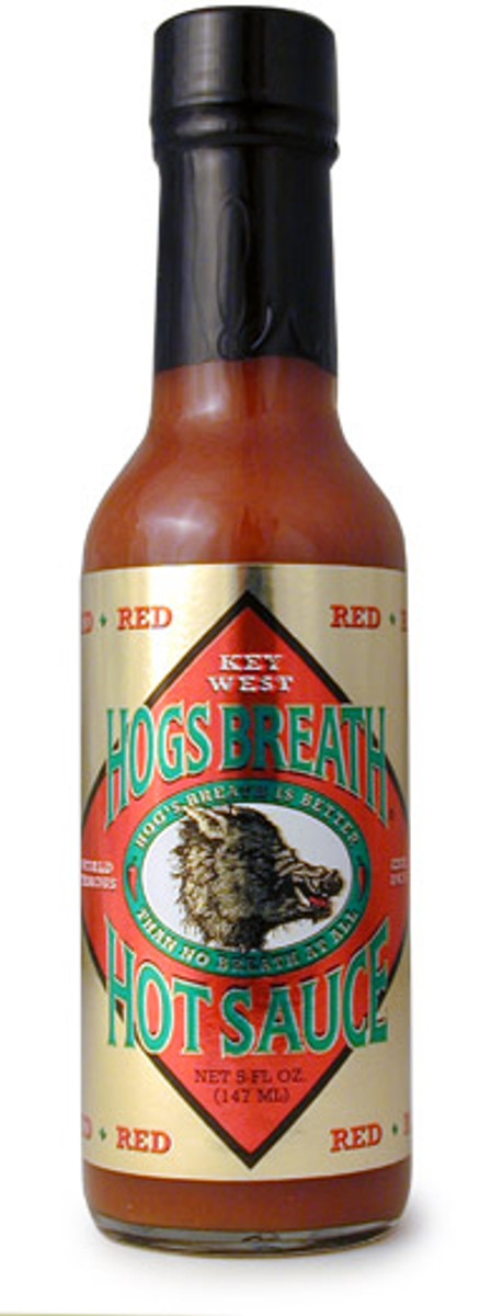Hogs Breath Red Hot Sauce - Pepper Explosion