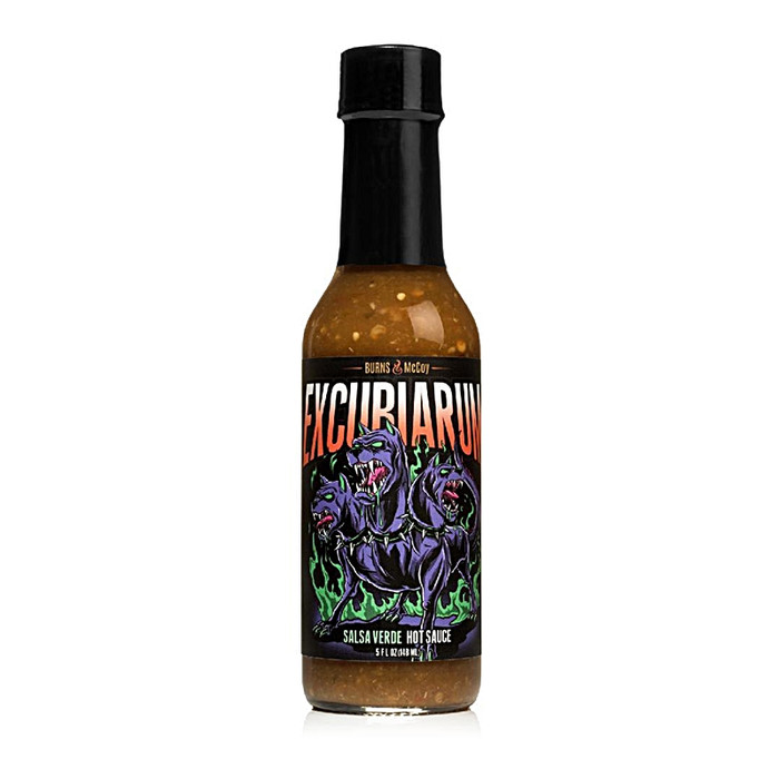 Excubiarum Verde Hot Sauce - Pepper Explosion