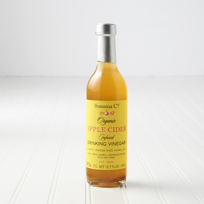 Organic Apple Cider Infused Drinking Vinegar available at PepperExplosion.com