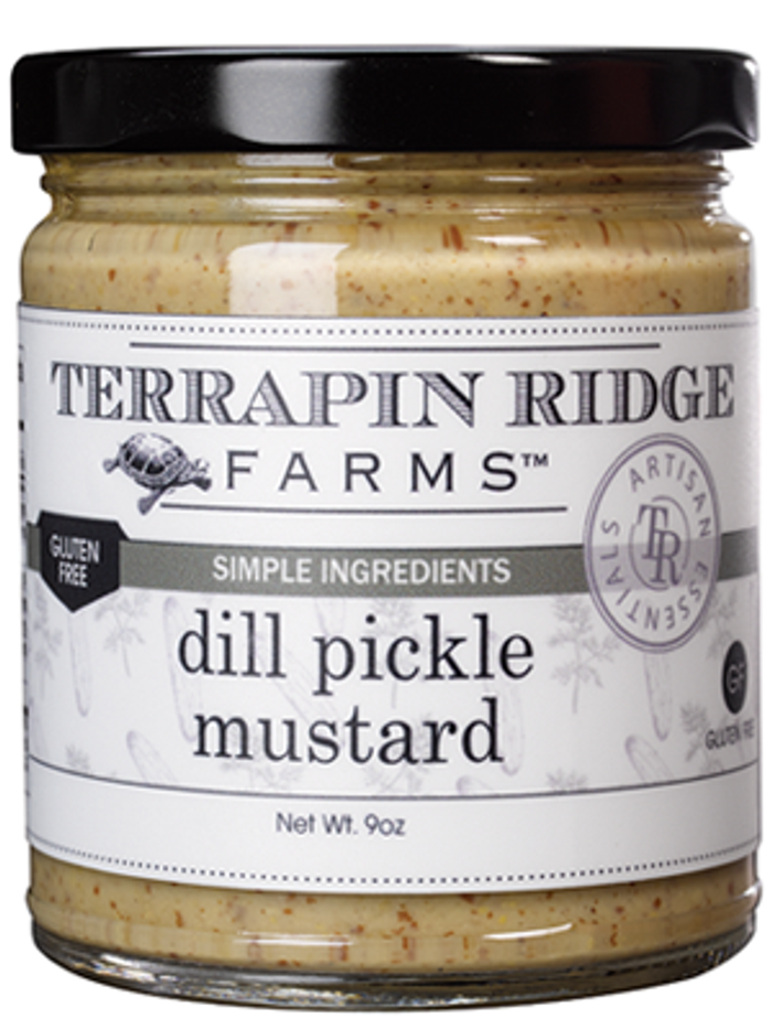 Dill Pickle Mustard by Terrapin Ridge Farms
