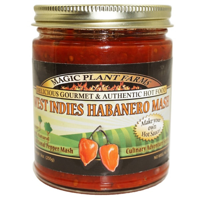 Habanero West Indies Red Pepper Mash - PepperExplosion.com