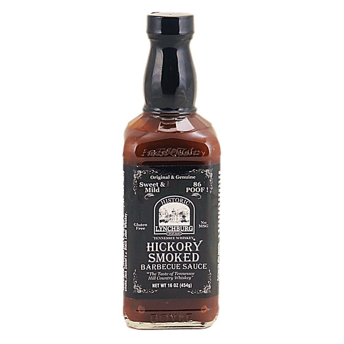 Lynchburg Tennessee Whiskey Hickory Smoked BBQ Sauce available at Pepper Explosion
