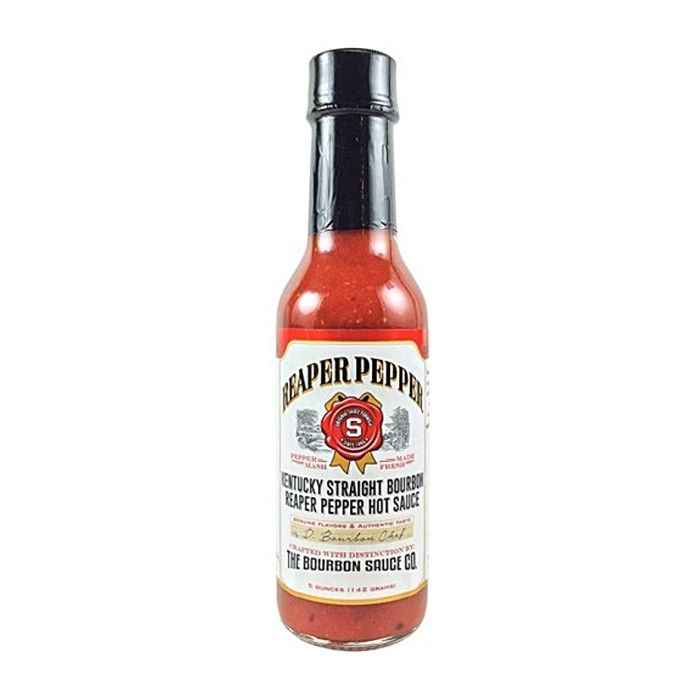 Kentucky Straight Bourbon Reaper Pepper Hot Sauce