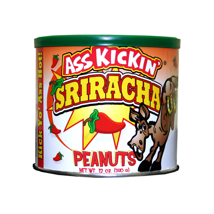 Ass Kickin' Sriracha Peanuts  - Available online at Pepper Explosion