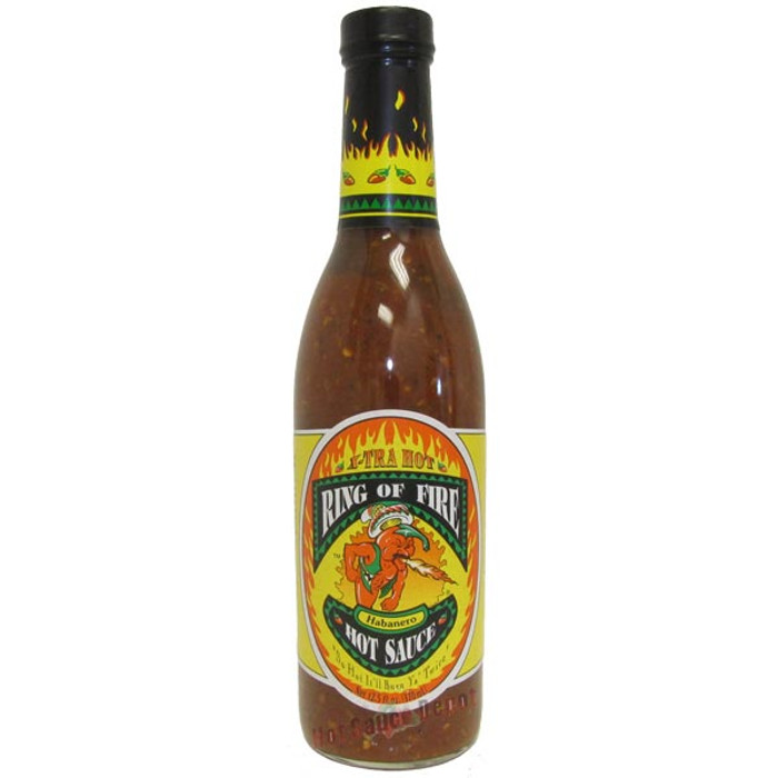 Ring of Fire Xtra Hot Habanero Hot Sauce - buy at PepperExplosion.com