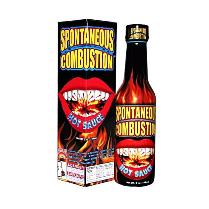 Spontaneous Combustion Hot Sauce | Pepper Explosion