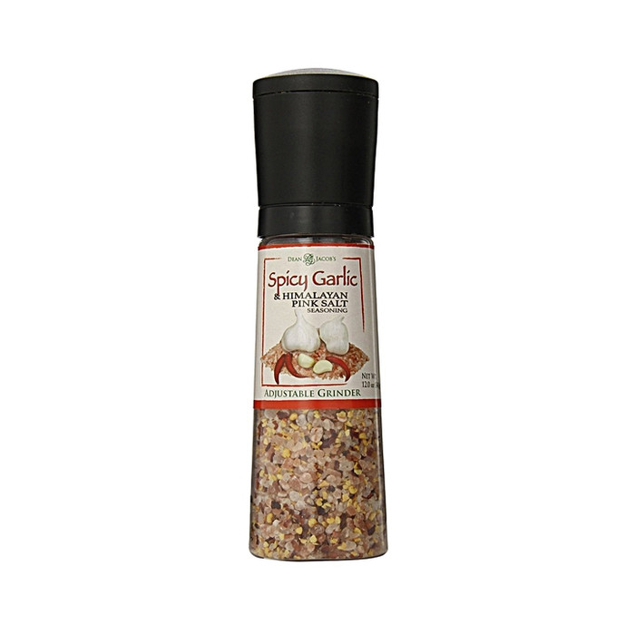Spicy Garlic and Himalayan Pink Salt Seasoning