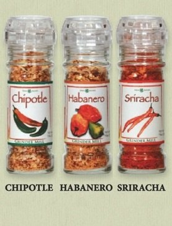 The Gourmet Grinder Collection - Sriracha, Habanero, Chipotle