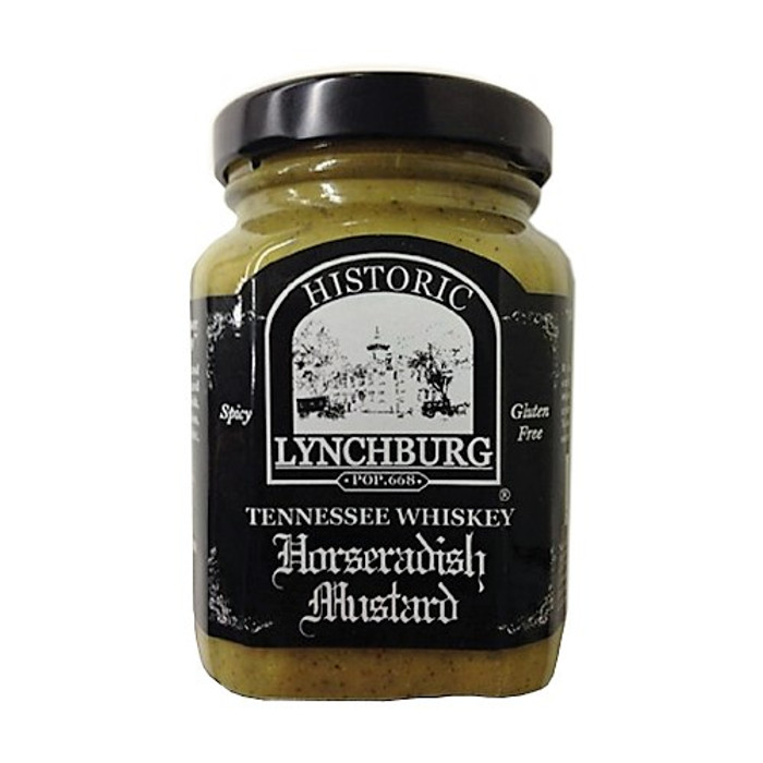 Historic Lynchburg Tennessee Whiskey Horseradish Mustard