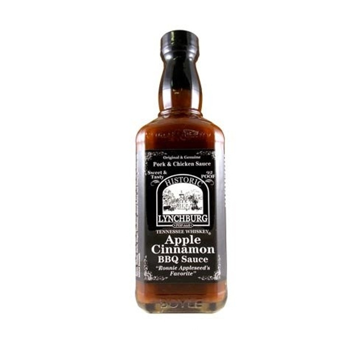 Historic Lynchburg Tennessee Whiskey Apple Cinnamon Barbecue Sauce - PepperExplosion.com