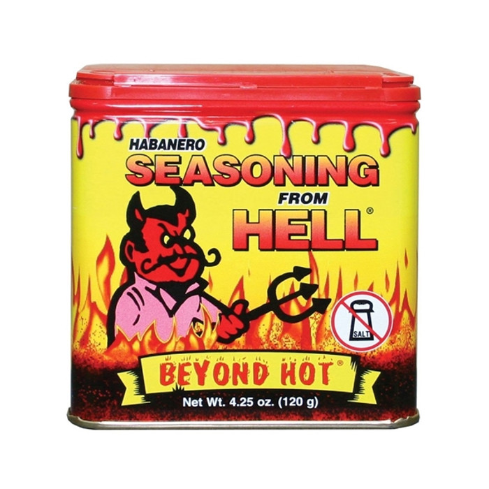 Habanero Seasoning from Hell available at Pepper Explosion