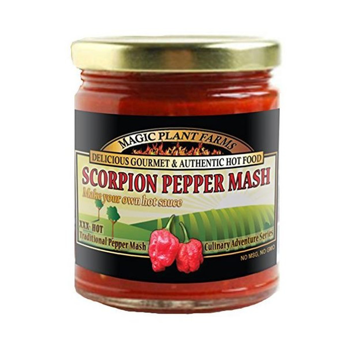 Scorpion Pepper Mash available at PepperExplosion.com